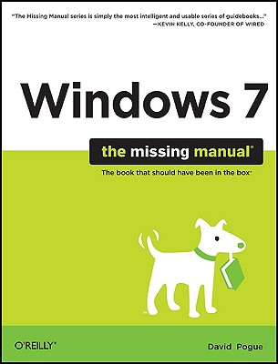Windows 7 By Pogue, David